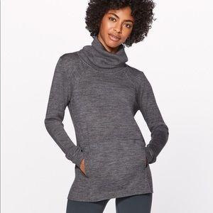 NWT Lululemon Sweat and Savasana Sweater size 4